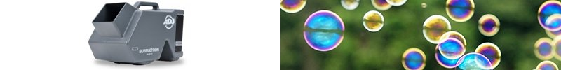 Machine à bulles sur batterie