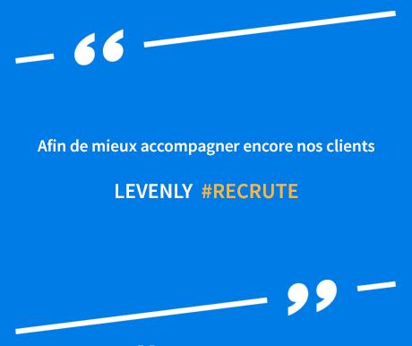 LEVENLY recrute : CDD, Alternance...
