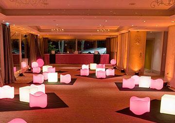 Eclairage ambiance Lounge