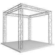Grill structure alu