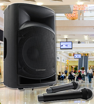 Sonorisation de stand