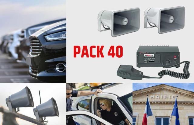 Exemple de configuration : le Pack 40 de Rondson
