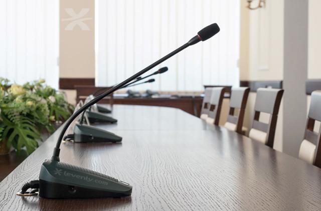Sonorisation de salles de conférence ou de réunion