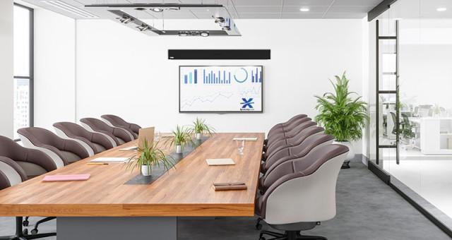 Moniteur pour salle de réunion : quelle taille en fonction de la distance ?