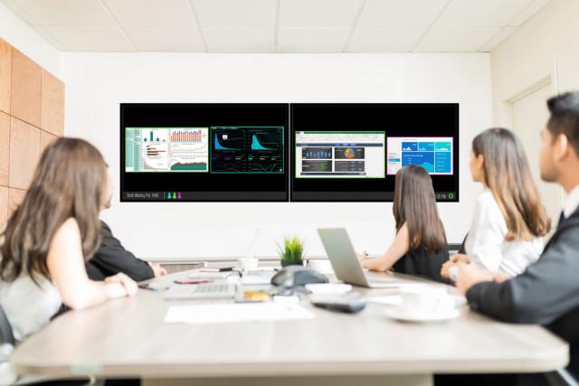 Partage de contenu à distance pour salles de réunion