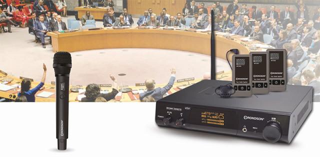 Nouveaux modèles : la station de traduction simultanée sans fil ST-200T de Rondson