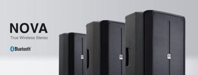 3 modèles d'enceintes actives : Audiophony Nova 10A, 12A et 15A