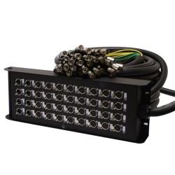 Acheter BOITIER DE SCENE XLR 32/8, CABLE MULTIPAIRES BLACK CABLE