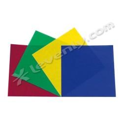 Acheter PACK 4 GELA PAR56 / COULEUR 1, GÉLATINES PROJECTEUR PARCAN56 SHOWTEC