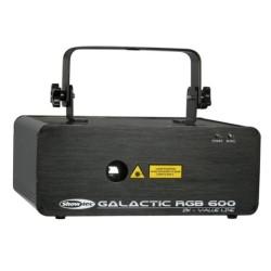 Acheter GALACTIC RGB600, LASER MULTICOULEURS SHOWTEC