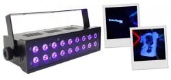 Acheter UV LED 18X3, LUMIÈRE NOIRE BOOMTONE DJ