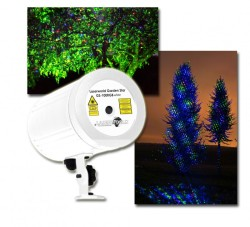 Acheter GS-100RGB MOVE WHITE, GARDEN STAR LASER LASERWORLD