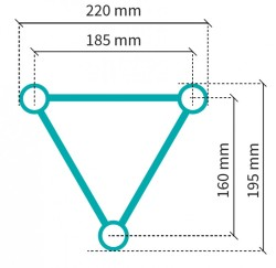 Acheter S22T-C420, STRUCTURE ALUMINIUM STAND SIXTY82