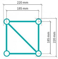 Acheter S22S-C416, STRUCTURE ALUMINIUM STAND SIXTY82