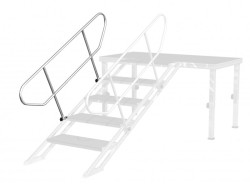 Acheter STAIR RAILING FOR 4-5 STEPS, ACCESSOIRE PRATICABLE STAGE82