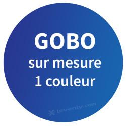 Acheter GOBO SUR MESURE 1 COULEUR, PERSONNALISATION NICOLS