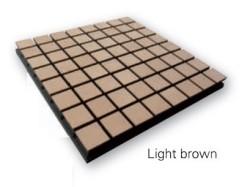 Acheter FLEXI WOOD A75 - LIGHT BROWN, PANNEAUX À TRAITEMENT ACOUSTIQUE VICOUSTIC