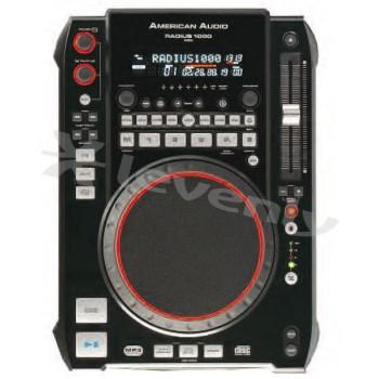 RADIUS1000PLATINE DJ AMERICAN AUDIO