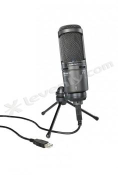 Acheter AT2020USB+, MICRO STUDIO SÉRIE 20 AUDIO-TECHNICA au meilleur prix sur LEVENLY.com