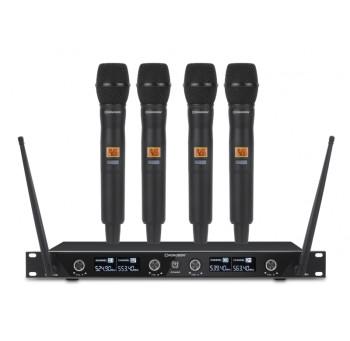 Acheter BE-1040/4MIC, SYSTÈME MICRO SANS FIL RONDSON au meilleur prix sur LEVENLY.com