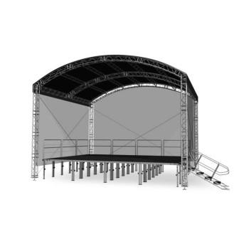 Acheter COUVERTURE SCÉNIQUE ARCHE 6 X 4 M, GRILL DE STRUCTURE ALUMINIUM INTELLISTAGE au meilleur prix sur LEVENLY.com
