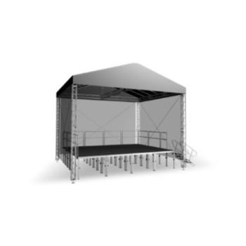 Acheter COUVERTURE SCÉNIQUE GR 8 X 6 M, GRILL DE STRUCTURE ALUMINIUM INTELLISTAGE au meilleur prix sur LEVENLY.com