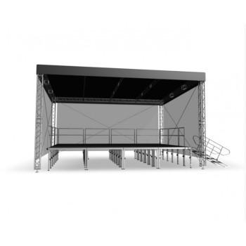 Acheter COUVERTURE SCÉNIQUE STR 8 X 6 M, GRILL DE STRUCTURE ALUMINIUM INTELLISTAGE au meilleur prix sur LEVENLY.com