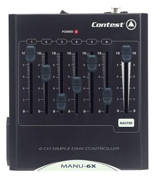 Acheter MANU-6X, CONSOLE DMX CONTEST au meilleur prix sur LEVENLY.com