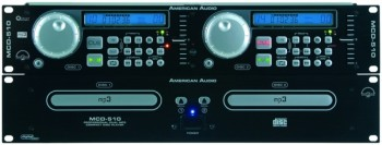 MCD-510PLATINE DOUBLE CD/MP3 AMERICAN AUDIO