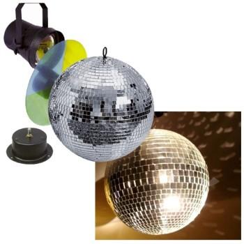 Acheter MIRROR BALL SET 30 CM, PACK SOIRÉE LEVENLY au meilleur prix sur LEVENLY.com