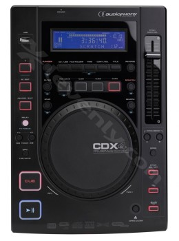 CDX4LECTEUR CD MP3 AUDIOPHONY